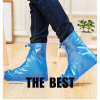 儿童户外防水雨鞋套女士雨靴学生雨天防滑加厚高筒鞋套男