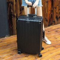 拉杆箱行李箱铝框箱韩版万向轮女男学生密码旅行箱26寸24寸小清新 复古