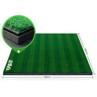 PGM 高尔夫练习场专用导向专利打击垫 3D防滑球垫 1.5*1.5m