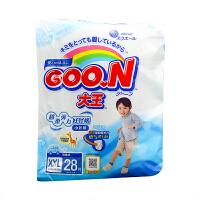 大王(GOO.N)男宝宝用短裤式纸尿裤婴儿尿不湿拉拉裤XXL28片