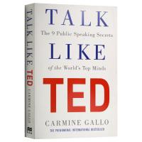 Talk Like TED TED演讲的力量 英文原版 像TED一样演讲 成就优秀演讲的9个秘诀 成功励志书籍 英文版书