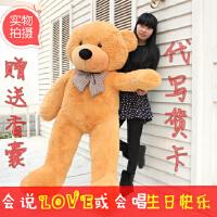 泰迪熊抱抱熊毛绒玩具大号公仔狗熊猫新年生日礼物送女生朋友闺蜜