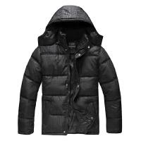 中老年男装棉衣棉衣冬装中年男士加厚父亲爸爸装连帽棉袄外套