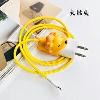 咬线器苹果数据线保护套手机充电器保护绳iPhone充电线耳机防折断