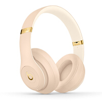 【����自�I】Beats Studio3 Wireless �音���o�3代 �^戴式 �{牙�o�降噪游�蚨��C-荒漠沙 MTQX