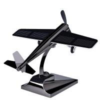 汽车摆件太阳能中控台创意车上装饰品飞机个性男车内饰品车载摆件