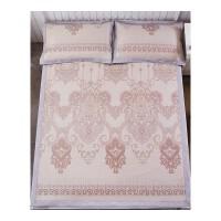 冰丝凉席三件套1.8米床可折叠提花加厚单双人空调凉席.