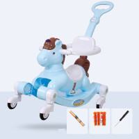 儿童摇摇马滑行两用溜溜车婴儿玩具1-2周岁男女宝宝生日礼物