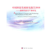中国科技发展研究报告 2010――战略性新兴产业研究