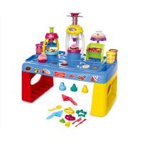 圣诞节礼物儿童迷你仿真玩具套装过家家屋彩泥台小女孩6岁女童3