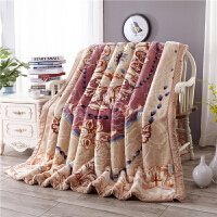 家纺毛毯被子加厚双层冬季单双人学生珊瑚绒毯子婚庆天丝盖毯