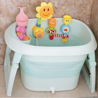 婴儿洗澡盆新生儿可坐躺通用多功能折叠儿童洗澡桶宝宝浴盆