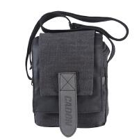 单反套机摄影包 尼康佳能微单相机包 单肩帆布小轻便包 黑色