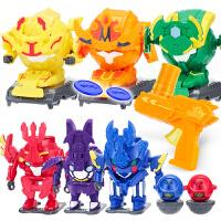机器人国宝特工4特攻3凯之魂战神机甲铠之魂玩具果宝变形合体翻滚