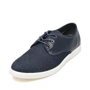达芙妮旗下SHOEBOX/鞋柜新款系带运动商务休闲鞋深口潮款男鞋