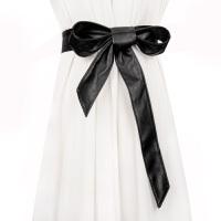 新品秋季女士腰带百搭长款打结腰封配连衣裙风衣装饰时尚气质皮带