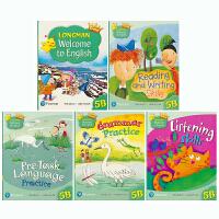Longman Welcome to English 5B 新版香港朗文小学英语教材 句型 词汇 语法 听力 阅读 写