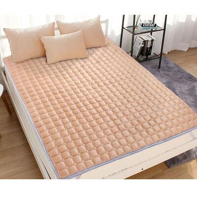 床垫1.8m床 1.5m床防滑薄床护垫被1.2米厚床褥学生宿舍榻榻米垫子  1.8X 2.0M 防滑服帖 易洗快干 透气干爽 柔软舒适