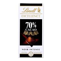 [当当自营] 瑞士进口 Lindt 瑞士莲 70% 黑巧克力 100G