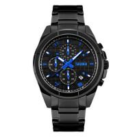 户外运动手表男士防水个性石英手表大表盘钢带商务男表潮流时尚腕表