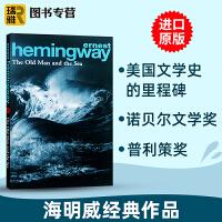 老人与海 英文版原版小说 The Old Man and the Sea 海明威 Hemingway 世界经典名著 拉美