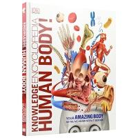 【首页抢券300-100】DK Knowledge Encyclopedia Human Body! 生物专业级人体超详