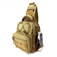 户外登山运动斜跨包单肩包户外休闲杂物包甲壳虫背包战术胸挂包
