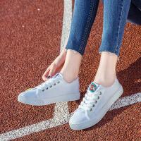 匡王新款帆布鞋女韩版百搭透气学生布鞋平底板鞋女士休闲鞋女鞋