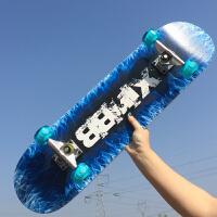 四�滑板�和�青少年玩具滑板�夜光初�W者男女生4��p�N