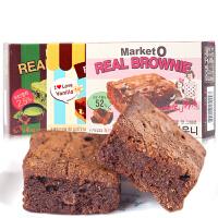 好丽友布朗尼蛋糕96g Market O巧克力饼干 韩国进口糕点零食品