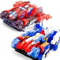 奥迪双钻爆裂飞车3代玉御星神和炼狱合体第三季暴力爆了变形玩具2