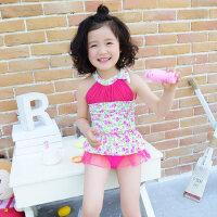 儿童泳衣女童连体泳装可爱韩版婴儿宝宝游泳衣中小童女孩 支持礼品卡支付