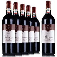 拉菲珍藏波尔多红葡萄酒 法国原瓶原装进口红酒 750ml*6整箱
