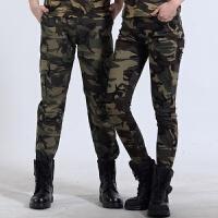 户外裤宽松休闲迷彩裤大码工装裤长裤军裤军迷服装战术裤多袋裤