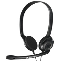 森海塞尔(Sennheiser )PC 3 CHAT 轻便舒适通话耳机黑色 游戏 耳麦 通话耳机