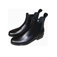 牛皮马术马靴英伦儿童男女马靴短靴定制防滑短靴户外马具马术用品