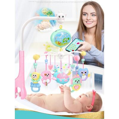 【支持礼品卡】婴幼儿床铃音乐旋转婴儿床头摇铃3-6-12个月宝宝床挂男益智女孩 h2o