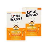 【网易考拉】LITTLE REMEDIES 天然蜂蜜棒棒糖 10支/盒 2盒