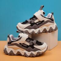 男童运动鞋冬季中大童女童休闲儿童老爹鞋