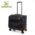 赛德纳 防水布行李拉杆箱万向轮男女用贴胶帆布软箱旅游旅行商务箱 新品