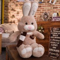 兔子毛绒玩具布娃娃公仔可爱睡觉抱枕女孩玩偶大号萌韩国搞怪懒人