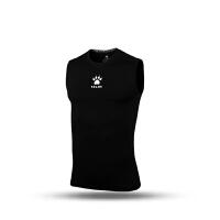 KELME卡尔美 K15Z730 男士弹力速干无袖紧身衣 运动健身高弹排汗背心T恤