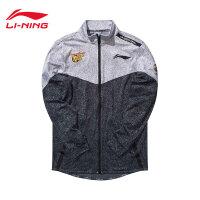 李宁卫衣男士CBA球队篮球系列开衫长袖外套男装冬季针织运动服AWDM923