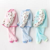 【3件3折后41.4】儿童内衣套装睡衣0-12个月男童纯棉夏季空...