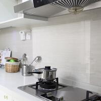 厨房吸油烟机贴纸灶台瓷砖自粘壁纸墙纸墙贴耐高温 60*90 6张防油贴