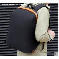 休闲百搭双肩包韩版电脑包旅行包男士背包时尚潮流大高中学生书包