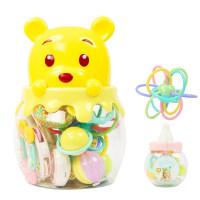 婴幼儿玩具 新生儿牙胶玩具手摇铃床铃宝宝儿童早教益智礼盒装生日礼物 摇铃