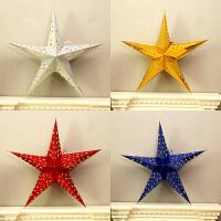 圣诞五角星挂件圣诞树装饰品圣诞节装饰装扮用品