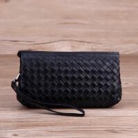 包包新款手拿包女士手包女单肩斜挎小包女包h 黑色链条版
