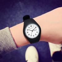 手表学生简约硅胶果冻女款休闲